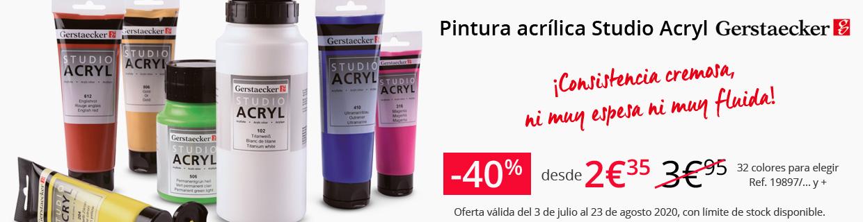 Pintura acrilica Studio Acryl