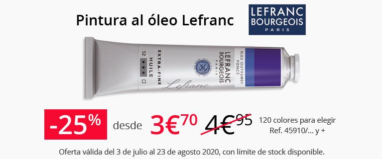 Pintura al oleo Lefranc