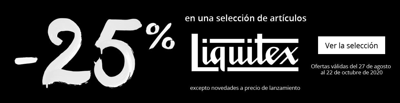 -25% en una seleccion de articulos Liquitex