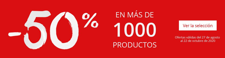 En mas de 1000 productos
