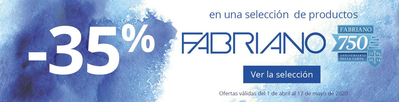 -35% en una selección de productos Fabriano