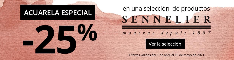 -25% en una selección de productos Sennelier