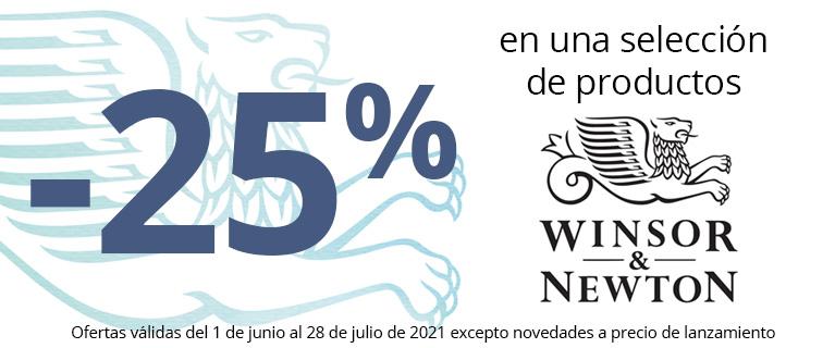 -25% en una selección de productos Winsor & Newton