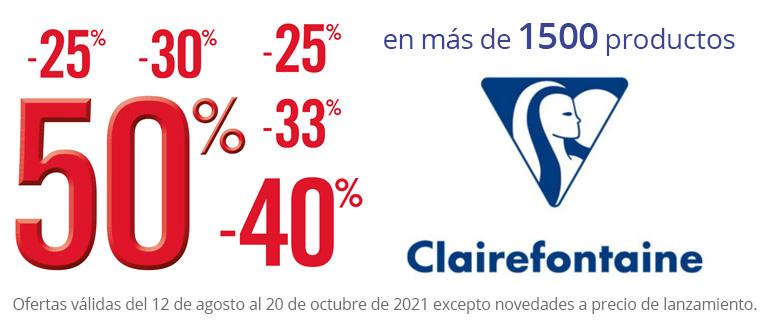 Rentrée 2021 - Seleccion de productos Clairefontaine