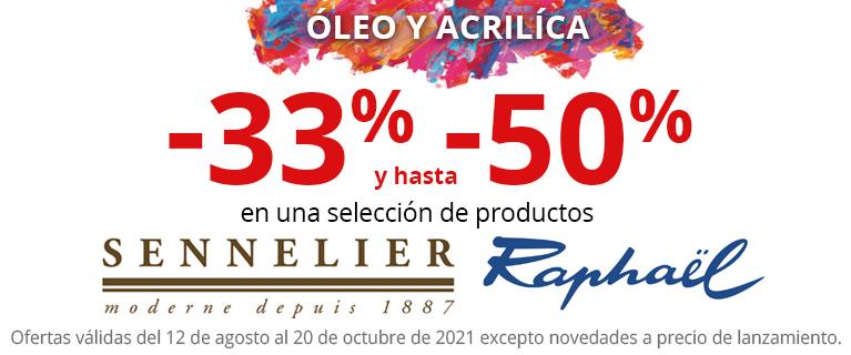 Rentrée 2021 - Productos par la pintura al Oleo y acrilica Sennelier & Raphael