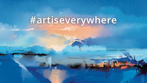 #artiseverywhere