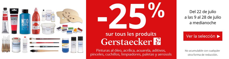 -25% en una seleccion de productos Gerstaecker