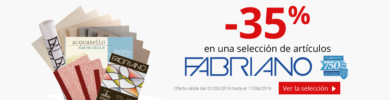 Hasta -35% en una selección de productos Fabriano