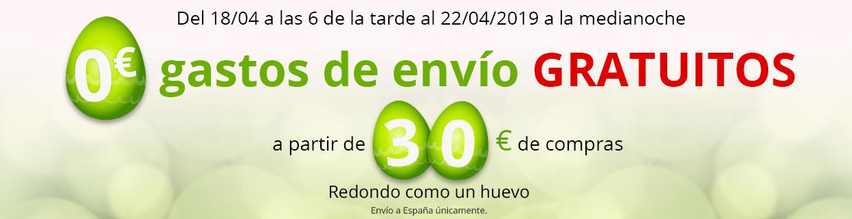 Gastos de envío gratuitos a partir de 30€ de compra !